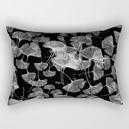 ginko biloba leaves pattern Rectangular Pillow