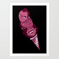 shaun of the dead Art Prints featuring Shaun of the dead by Andre!