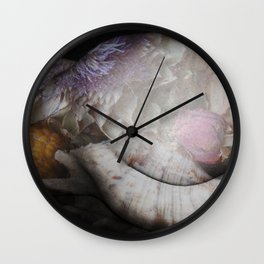 FLORAL NUDE Wall Clock