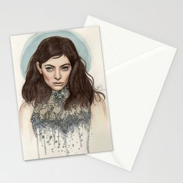 Lorde @ the Oscars Stationery Cards