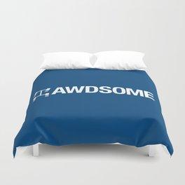AWDSOME v5 HQvector Duvet Cover