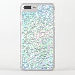 Liquid spirit Clear iPhone Case