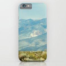 Mountains Above the Brushline (Sierra Nevadas, California) Slim Case iPhone 6s