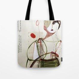 Sepia Girl Tote Bag