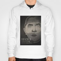 dracula Hoodies featuring Dracula  by James Northcote