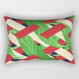 Geometric Plant Rectangular Pillow