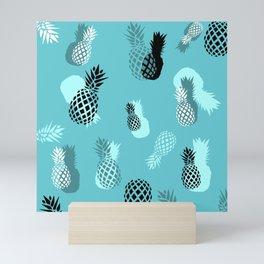 Pineapple Pattern Mini Art Print