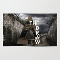 bastille Area & Throw Rugs featuring Bastille - The Draw by Thafrayer