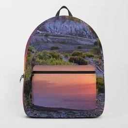 Summer sunset at the mountains. Sierra Nevada Backpack