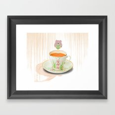Teatox Framed Art Print