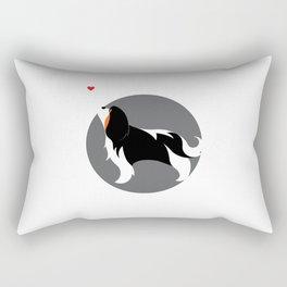 Cavalier King Charles Love Rectangular Pillow