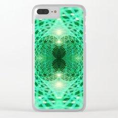 Geometry Dreams : Eternity Clear iPhone Case