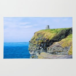O'Brien's Tower on The Cliffs of Moher Rug