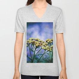 Mountain Flowers Unisex V-Neck