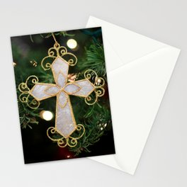 Christmas Cross Stationery Cards