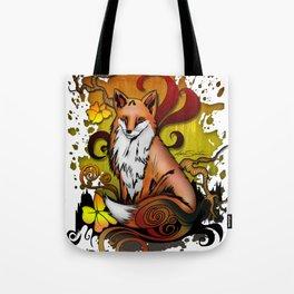 Outdoor Fox Tote Bag