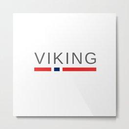 Viking Norway Metal Print