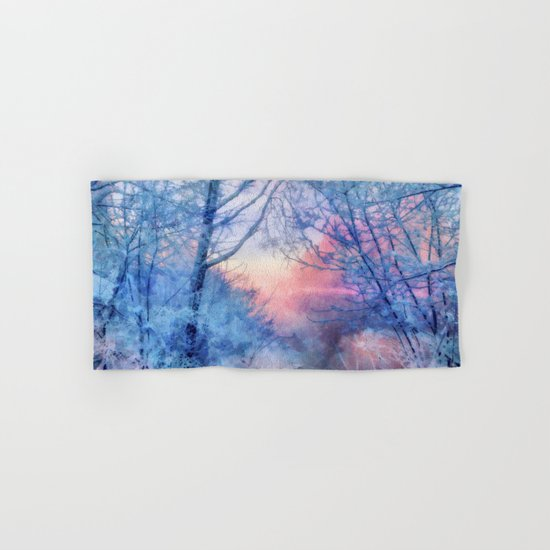 Winter evening Hand & Bath Towel