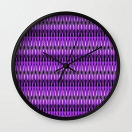 Stylish Chevron Dance Wall Clock