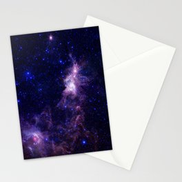 gAlAXY Purple Blue Stationery Cards