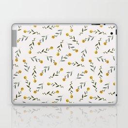 Yellow Knobs Laptop & iPad Skin