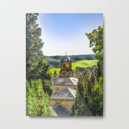 Clock Tower. Metal Print