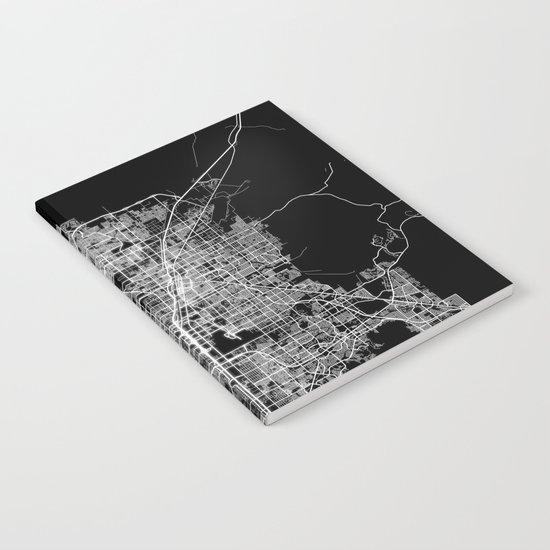 Las Vegas map Notebook