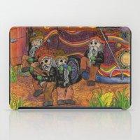 doom iPad Cases featuring Doom Party by Amanda James