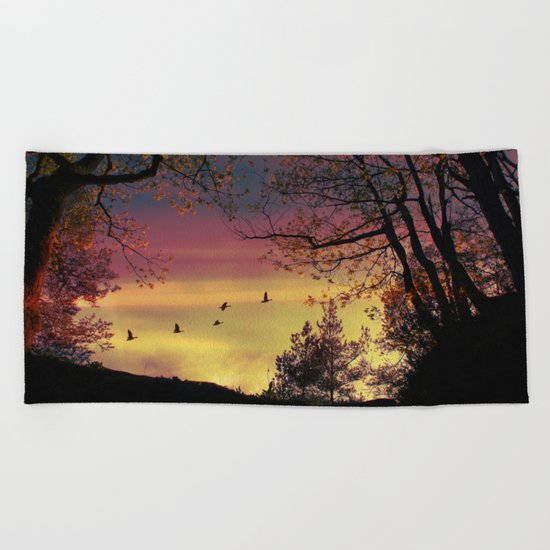 Catch of the day Beach Towel