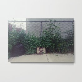 wine, trash Metal Print