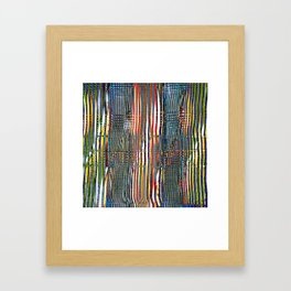Combed Texture I Framed Art Print