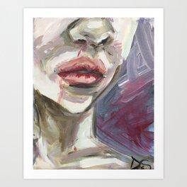 Coping Pain Art Print