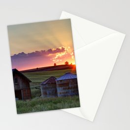 Home Town Sunset Stationery Cards
