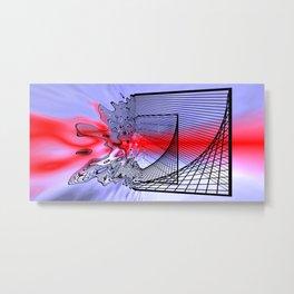 broken way Metal Print