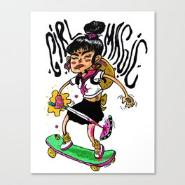 GIRL MAGIC Canvas Print