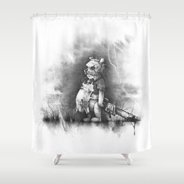 The Pooh Shower Curtain