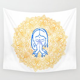 Namaste | Wisdom Flower Mandala Wall Tapestry