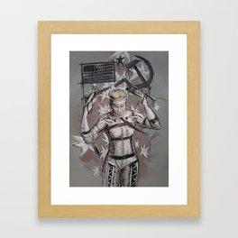 The Boss - MGS4 Framed Art Print