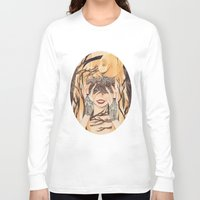 sleeping beauty Long Sleeve T-shirts featuring Sleeping Beauty by lovesoup