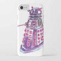 dalek iPhone & iPod Cases featuring Dalek by BlueAcorn