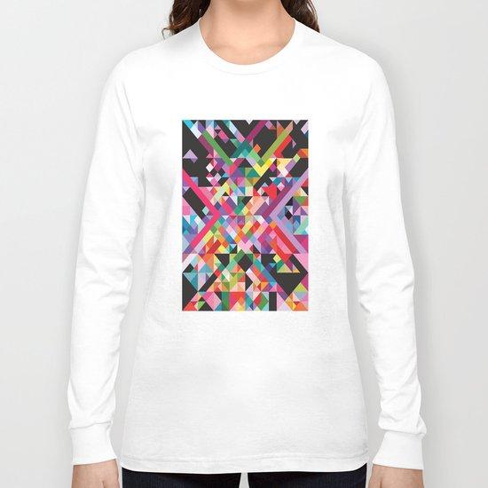 Geometric Kaos Long Sleeve T-shirt