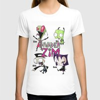 invader zim T-shirts featuring Invader Zim best decoration ideas by customgift