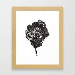 Henna Design Framed Art Print