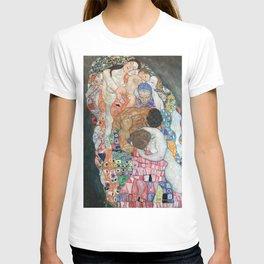 Gustav Klimt - Death and Life T-shirt