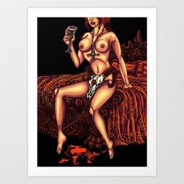 Sex Magic Art Print