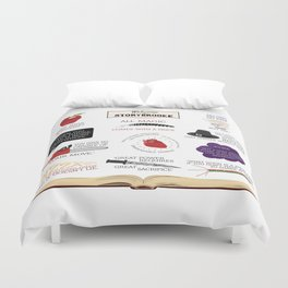 Once Upon a Time Quotes Duvet Cover