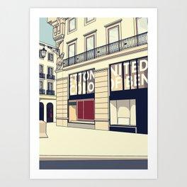 Chiado #2 Art Print