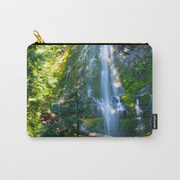 Proxy Falls 3 - Waterfall In Oregon Carry-All Pouch