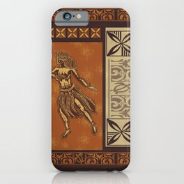 Hula Dance Like No One Is Watching iPhone Case