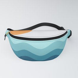 Abstract Landcape 14 Portrait Fanny Pack
